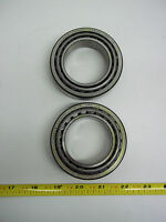 912883 Clark Forklift, Taper Bearing Cup And Cone Set, Lot Of 2