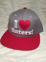 I ❤️ Haters Snap Back Hat