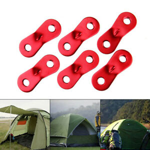 d68e59b27 Details about 1 5 10x Alloy Rope Cord Fastener Guy Line Runners Camping Tent  Awning Tensioner