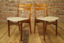 1/2 Danish Modern Design Teak Esszimmerstuhl - Vintage Dining Chair 60er Stuhl