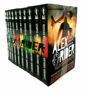 Alex-Rider-Collection-10-Book-Set-Pack-Anthony-Horowitz-Young-Spy-Children-Novel