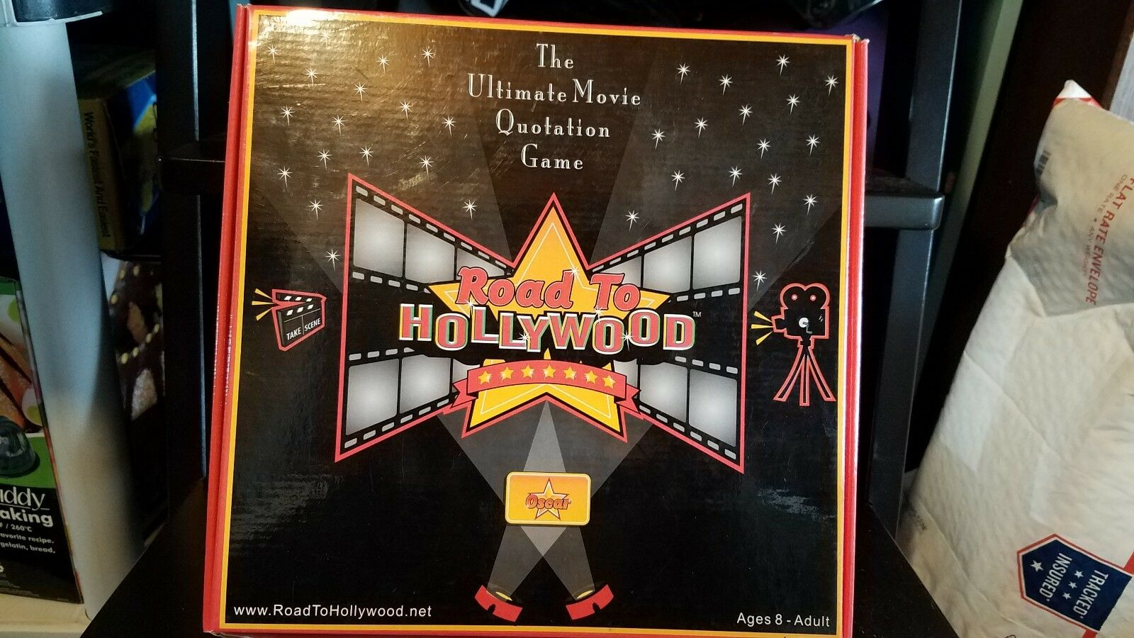 Road To Hollywood Board Game Oscar. Collectors