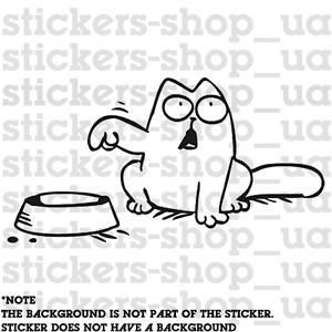 Details About X1 Simon Cat 120mm Stickerdecal Sticker Simon Cat Car Vinyl Tuning Jdm Show Original Title