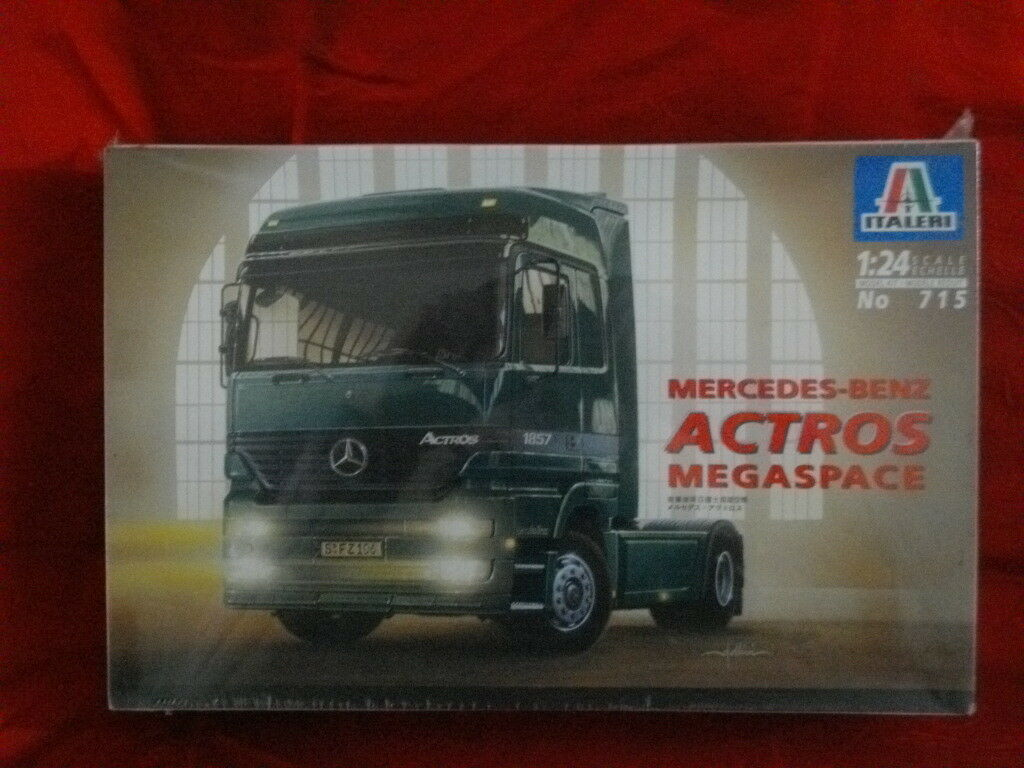 MERCEDES-BENZ ACTROS MEGASPACE 1 24 ITALERI 715