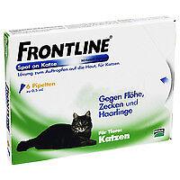 FRONTLINE Spot on K Lösung f.Katzen 02246426 6 St