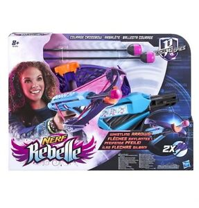NERF REBELLE SECRETS AND SPIES COURAGE CROSSBOW BLASTER WITH 2 ARROWS Brand New - <span itemprop='availableAtOrFrom'>Durham, Durham, United Kingdom</span> - NERF REBELLE SECRETS AND SPIES COURAGE CROSSBOW BLASTER WITH 2 ARROWS Brand New - Durham, Durham, United Kingdom