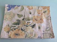 Newbridge Desiger Tabletop Fashion Floral Placemat, Set Of 5