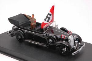 Mercedes 770k Adolf Hitler In Nuremberg Parade 1938 1:43 Model RIO
