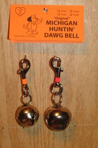 "DOG  BELL /""ORIGINAL  HUNTIN  DAWG  BELL/""..YOUR  CHOICE MICHIGAN  DAWG  BELL"