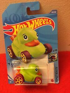 Hot Wheels 202 N Case 132//250 Duck  N Roll In Green