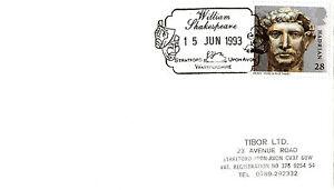 Intelligent 15 Juin 1993 Roman Britain Cover William Shakespeare Stratford Upon Avon Shs-afficher Le Titre D'origine Utilisation Durable