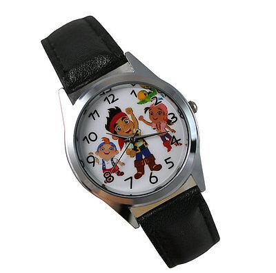 Jake and the Never Land Pirates Boy Girl Child  Fashion Watch Xmas Wrist YJK