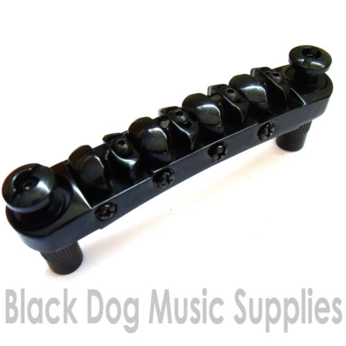 Quality bass guitar bridge chrome black or gold BB100