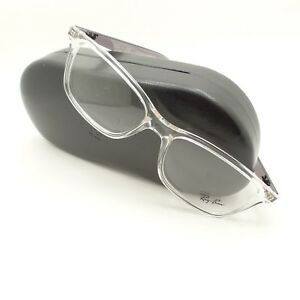 6ef7c5d81c Image is loading Ray-Ban-7047-5768-Transparent-Crystal-Grey-Eyeglass-