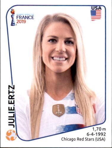 Julie Ertz Panini Frauen WM 2019 Sticker 415 USA