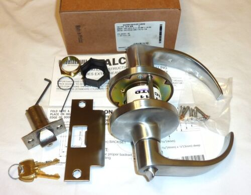 4 Falcon T511PD QUA 626 Commercial Entry//Office Deadlock Lock Keys SATIN CHROME