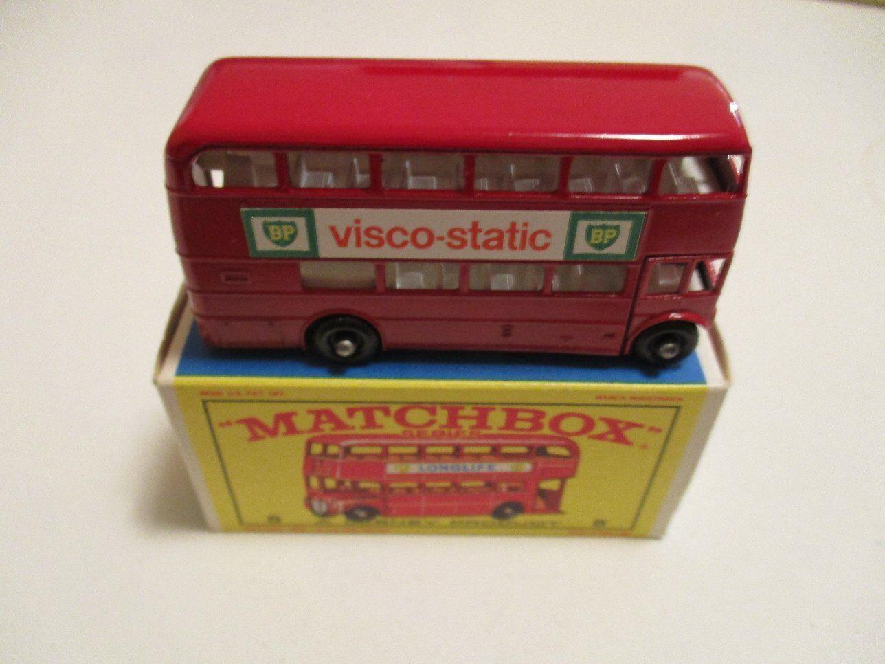 Matchbox nr. 5 london bus werbung bp visco statische topzustand mit ovp box