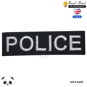 Police-Movie-Comics-Embroidered-Iron-On-Sew-On-Patch-Badge-For-Clothes-Bags-etc