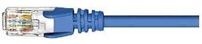 0.5m Or 1m Crease-Resistance Blue *aust Brand Knowledgeable 4x Cabac Cat-5e Utp Patch Cables Rj45 Connectors