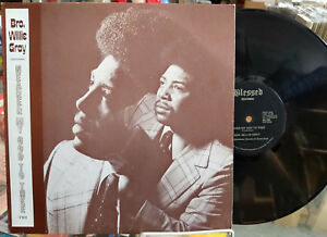 BROTHER-WILLIE-GRAY-Nearer-My-God-To-Thee-VINYL-LP-Gospel-PRIVATE-Louisville-KY