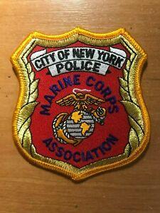 Parche-Policia-Nypd-NYC-Ciudad-de-Nueva-York-Asociacion-de-Infanteria-de-Marina