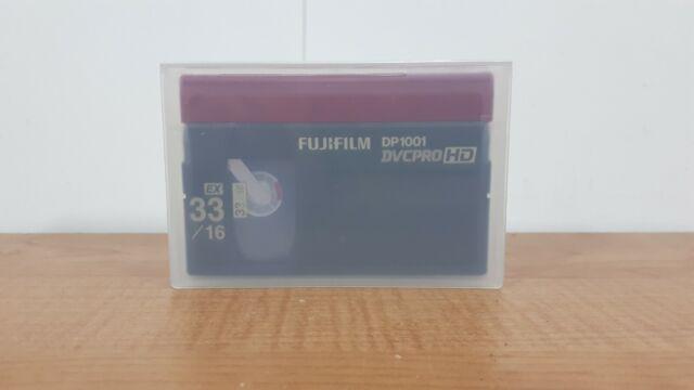 NEW FujiFilm DP1001 DVCPRO HD 64EX/32L Tape