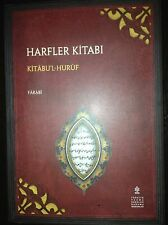 ISLAM ARABIC Kitab al-Huruf Book of Letters AL-Farabi Philosophy Arabic-Turkish