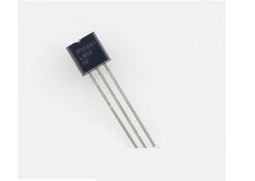 2pcs LM35DZ LM35 TO-92 NSC Capteur de température IC