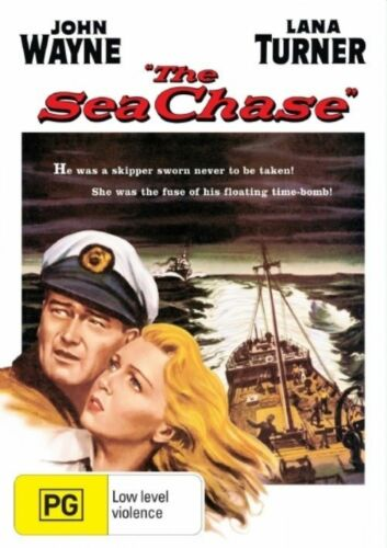 1 of 1 - The Sea Chase (DVD, 2005) VGC Pre-owned (D91)
