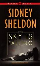 The Sky Is Falling AUDIO 4 CASSETT BOOK Sidney Sheldon Novel Drama Suspense