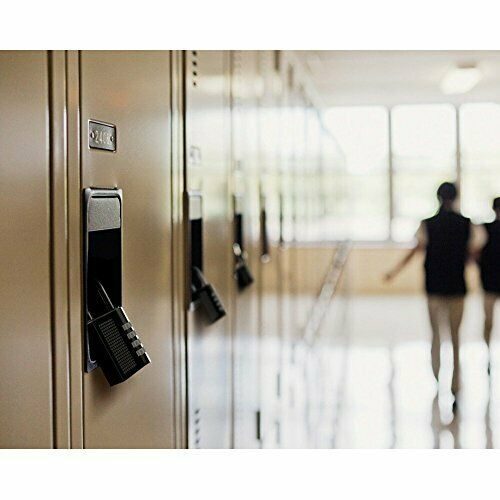Combination Padlock Heavy Duty Lock 4-Digit Combination Lock for School Gym