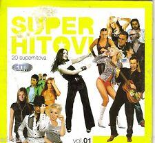 SUPER HITOVI CD Best Hit Dino Merlin Natasa Jelena Boris Marija Goran Karma Vol1