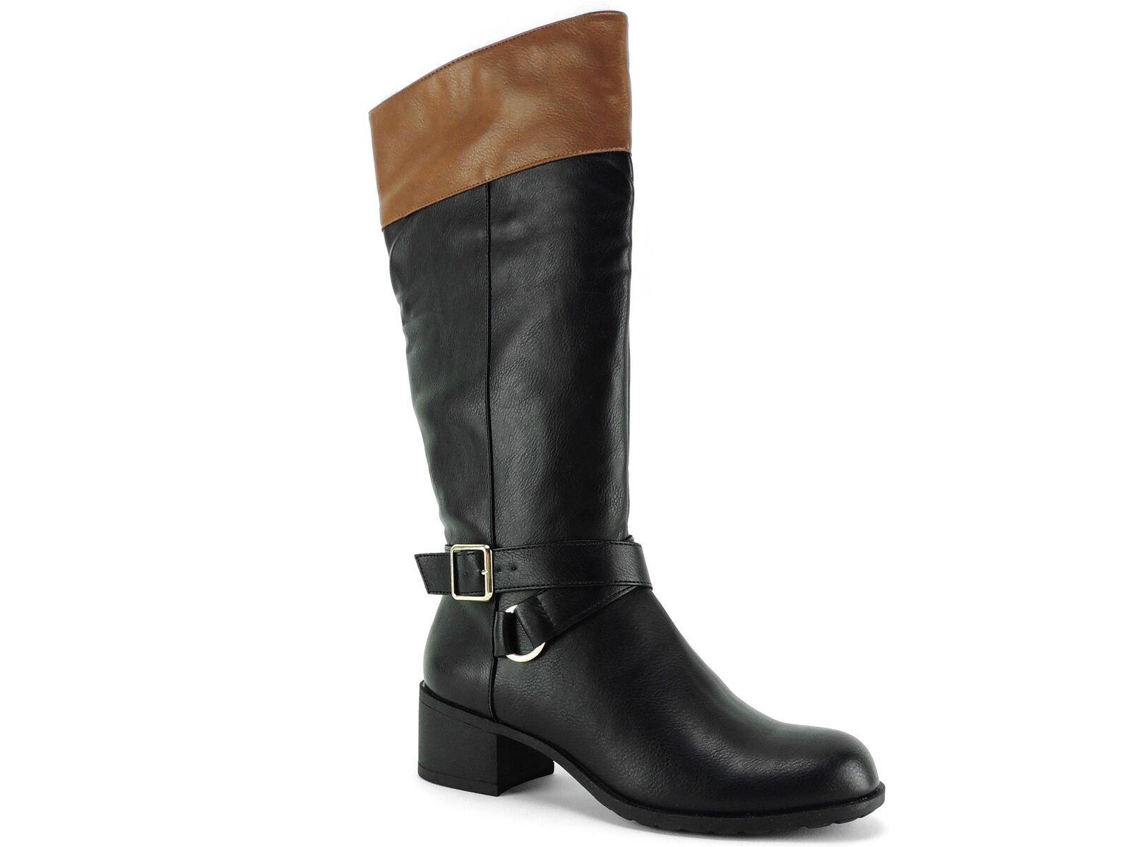 Style&co. Women's Vedaa Boots Black Barrel Size 5 M