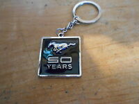 2014 Ford Mustang 50th Anniversary Dealership Dealer Promo Keychain Orig