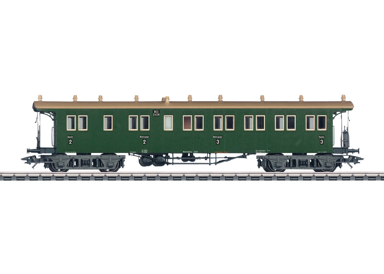 Märklin 42103 treno rapido-piattaforma carrello della W. St. E.