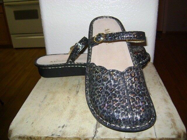 Alegria Tuscany   Leopard Stripe Clogs Mules chaussures  EUR 41