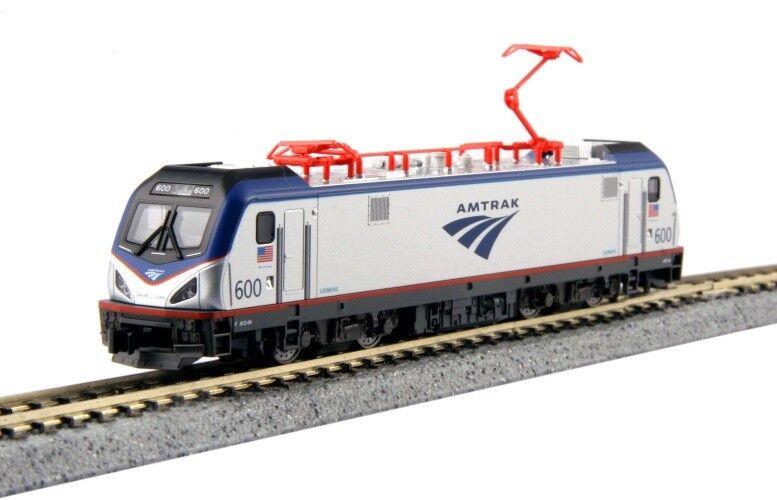 Kato 137-3001D n Siemens ACS-64 Amtrak  600  David L. Gunn  con DCC instalado