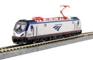Kato 137-3001d N Siemens Acs-64 Amtrak 1524cmdavid L. Gunn   Kato 137-3001d N Siemens Acs-64 Amtrak 1524cmdavid L. Gunn