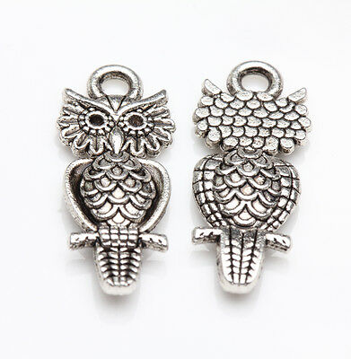 HOT Tibet Silver Various Animal Pattern Charm Pendants Craft Necklace Making DIY