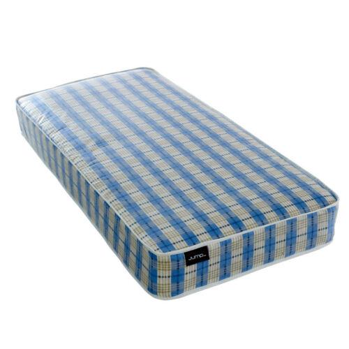 """6/"""" Cheap Budget Blue Open Coil Spring Soft Mattress Single Double King Matress"""