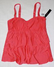 5435a93e96 Alex Marie Womens $73 NEW Ruffle Tankini Bandini Bikini Swimsuit Tank Top 8  NWT