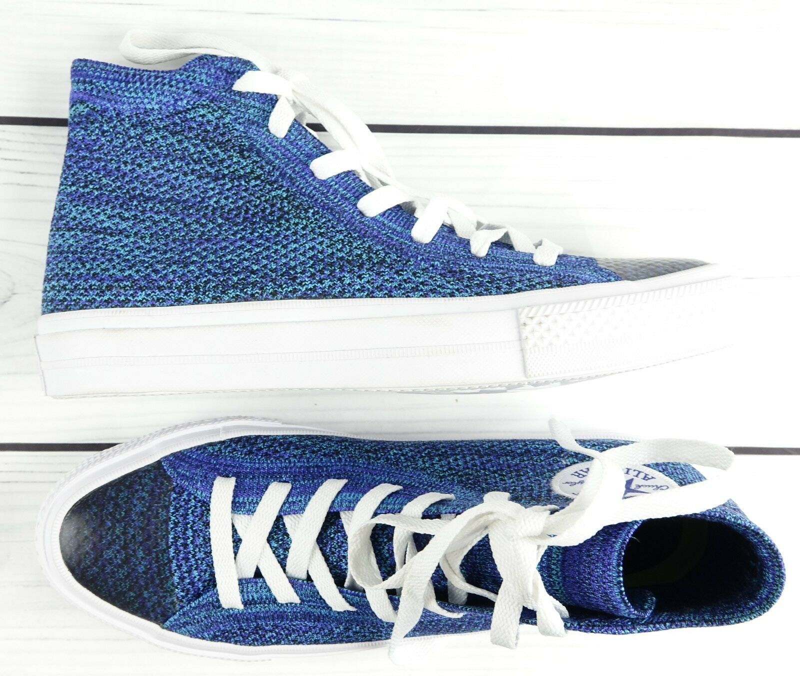 Converse Chuck Taylor All Star X Flyknit Blau MEN SZ 6 WMNS SZ 8 157507C