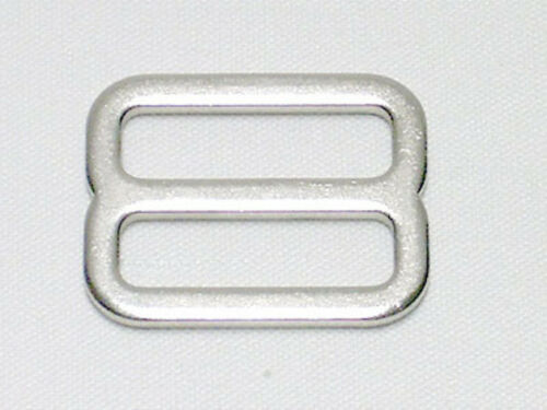 10 tasche SARACINESCA SARACINESCA 20mm argento metallico Stopper CINTURA vers piatto appena
