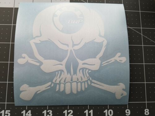 Skull BRP decal Can-am Ski-doo Summit Outlander Maverick Renegade Snowmobile ATV