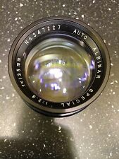 Albinar 135mm F/2.8 Lens M42 Universal screw Conver Nikon Canon Olympus Pansonic