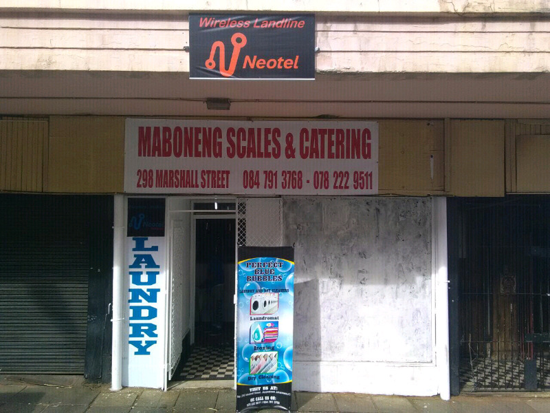Maboneng Laundry affordable washings and iron insame day R40