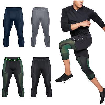 532a6699 Under Armour Mens Threadborne Seamless ¾ Breathable Lightweight Running  Leggings | eBay