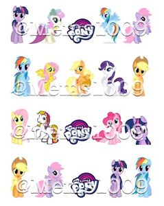Image Is Loading My Lil Pony Nail Art Water Decals