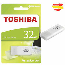 PENDRIVE 32GB TOSHIBA MEMORIA USB 2.0 32 GB PEN DRIVE ORIGINAL NUEVOP3203