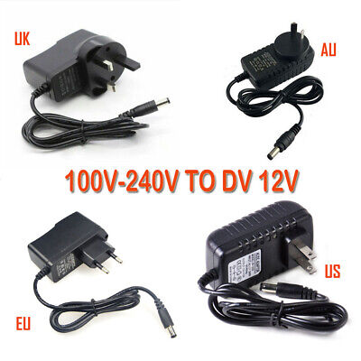 10x AC//DC 12V 10A 120W Hight Power Supply Adapter For LED Strip Light